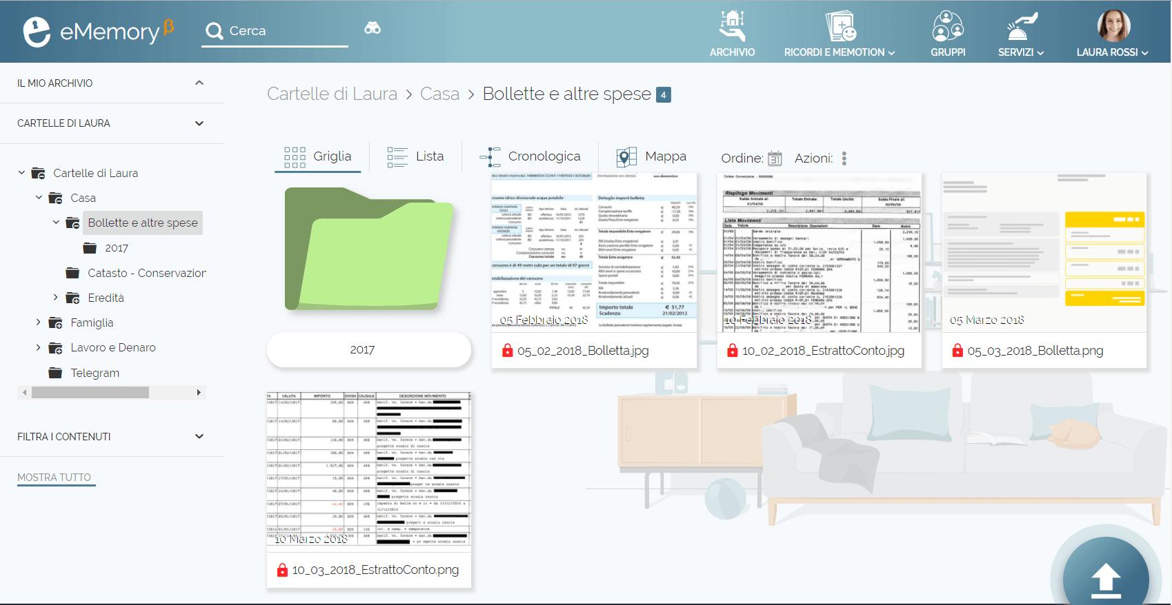 Archive billing